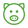 Icons-Website_Pig-BLK-Exp-GREEN