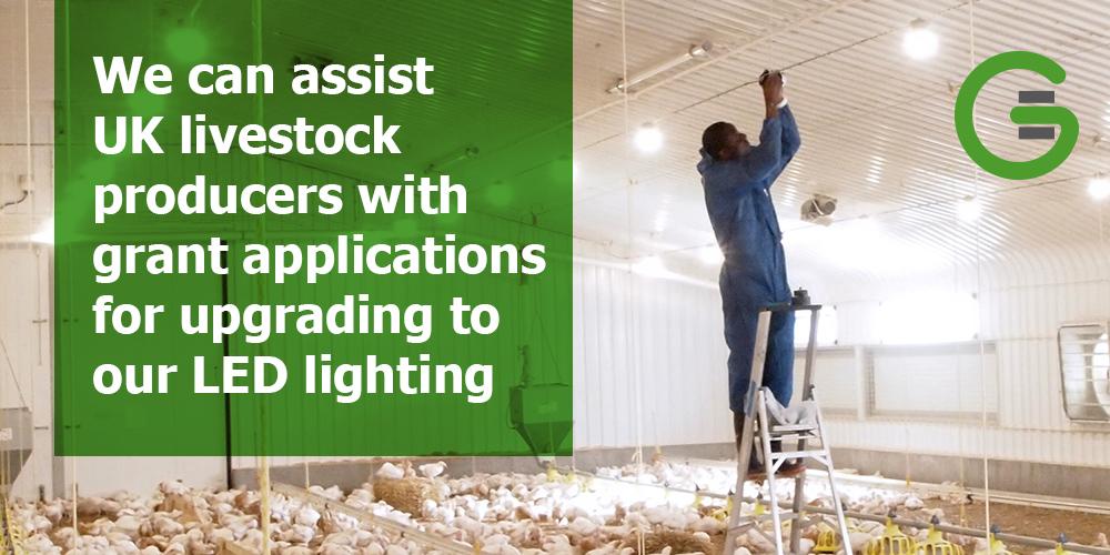 LED lighting grant funding